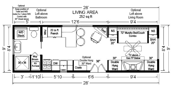 Tiny home plans with pictures.