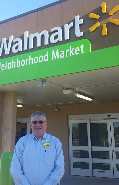 Store Manager Chuck Fowler