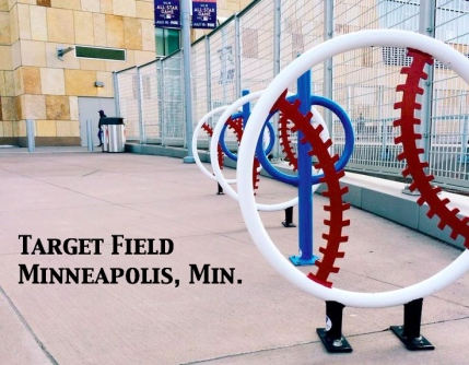 Baseball-racks-at-Target-Field Minneapolis